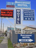 We welcome you at Buccaneer Motel!