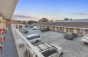 On-site parking is available at Buccaneer Motel Long Jetty NSW