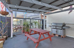 Guests are welcome to use the BBQ in our shaded BBQ area at Buccaneer Motel Long Jetty NSW